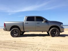 2013 Ram 1500 Sport 4x4 Crew Cab  Rancho 4 Inch Suspension Lift  20x10 -12 KMC XD Monsters on Nitto 295/60/20 Terra Grapplers