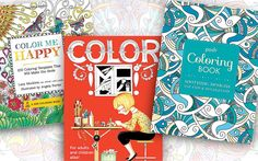 Free Download: Coloring Pages from Popular Adult Coloring Books--Editor's Note: Check back here to see more new options. We're adding new coloring sheets every week!
