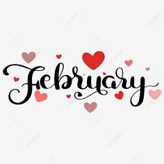February Black History Month, February Month, February Calendar, Hello January, School Calendar, Winter Background, Text Background, February Clipart, Welcome February
