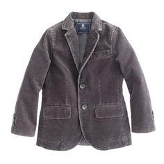 Boys' Ludlow sportcoat in corduroy/ For R