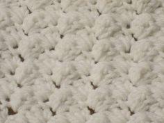 stitchin' girl: New crochet stitch - new blanket