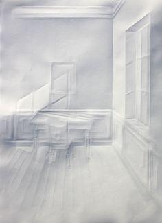simonschubert(light on desk2), 2015, 50cm x 35cm