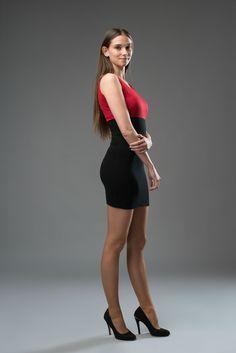 red black dress, mini