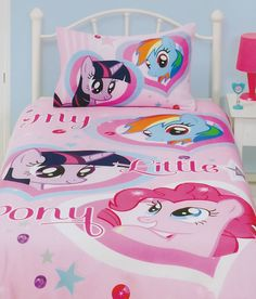 My Little Pony quilt cover set from Kids Bedding Dreams