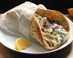 Pan árabe relleno: un riquísimo pan pita casero con un relleno sano y equilibrado.