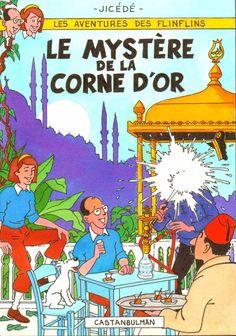 Les Aventures de Tintin - Album Imaginaire - Le Mystère de la Corne d'Or