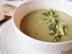 Broccolisoppa med kokos/ingefära/chili (mejerifri)