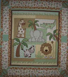 Animal Baby Quilt