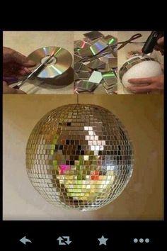 Disco ball DIY