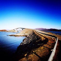 Atlanterhavsvegen in Averøy, Møre og Romsdal fylke