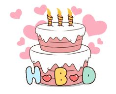 Happy Birthday Gif Images, Cute Birthday Wishes, Happy Birthday Greetings Friends, Happy Birthday Video, Birthday Pictures, Happy Birthday Cards, Birthday Fun, Happy Bird Day, Birthday Cartoon