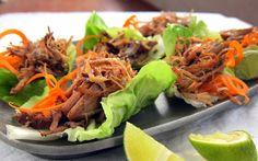 Carnitas - Pulled Pork in Lettuce Cups
