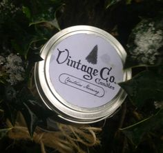 Choose Your Scent // 4oz. // Metal Tin // (1)Hand Poured Soy Candle