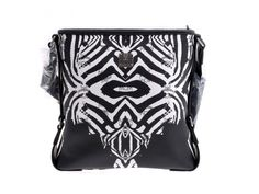 58a29f4d622cbe #Authentic #MCM Zebra #Shoulder #Bag White / Black outlet - Ginzo  Corporation