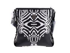 #Authentic #MCM Zebra #Shoulder #Bag White / Black outlet - Ginzo Corporation