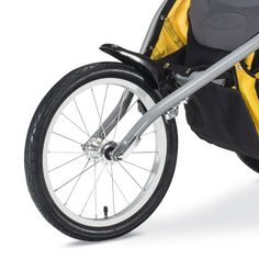 Amazon.com : BOB 2016 Ironman Duallie Jogging Stroller, Yellow : Baby Baby Doll Strollers, Best Baby Strollers, Double Strollers, Twin Pram, Best Prams, Best Lightweight Stroller, Best Suitcases, Baby Jogger City Select, Jogging Stroller
