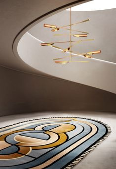Contemporary Rugs, Modern Rugs, Contemporary Hallway, Lounge Rug, Himmelblau, Best Interior Design, Home Decor Trends, Decor Ideas, Unique Rugs