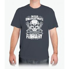 Born in february - Mens T-Shirt