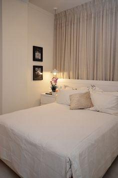 decoração quarto casal pequeno espaço - Pesquisa Google
