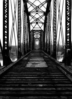 Abandoned Bridge- kind of reminds me of the very first Supernatural episodes bridge!