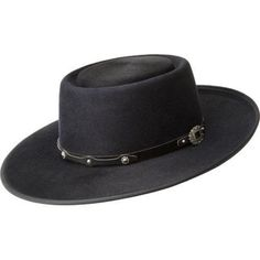 Bailey Western Bianco Cowboy Hat True Black