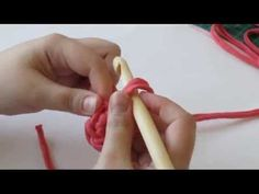 Como hacer el Anillo Magico, ganchillo - YouTube
