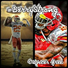 I'm by no means a Chiefs fan but this man is truly an inspiration to all. #BerryStrong
