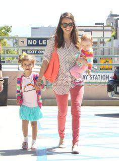 Jessica Alba's daughter wears Geekie Imagination Tee!