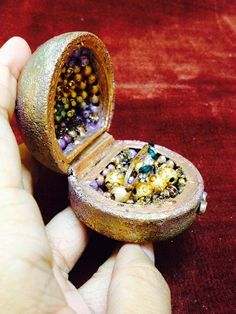 Altered Ring box | My Butterfly Garden
