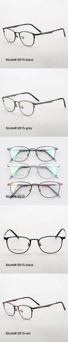 MY DOLI 9915 full rim men style pure titanium RX optical frames myopia eyewear eyeglasses prescription spectacles