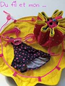 Tuto : Sac Pieds Secs - So Tutorial and Ideas Hobbies And Crafts, Diy And Crafts, Crafts For Kids, Creation Couture, Bag Making, Sewing Projects, Homemade, Creative, Fabric