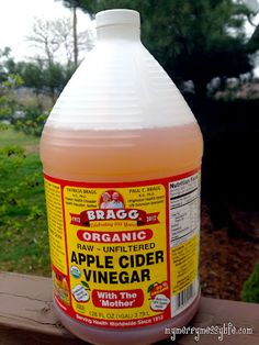Apple Cider Vinegar- and all its wonders.