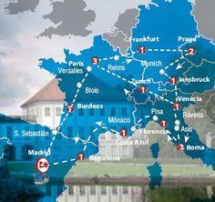 Oferta de viaje a Italia. Entra, informate y reserva el viaje Circuito de 18 dias por la Gran Europa Tur�stica salida de Madrid