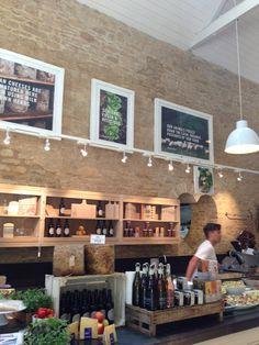 Daylesford Organics, UK. July 2013
