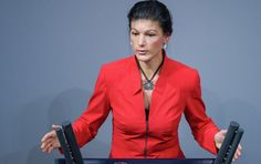 Left Party parliamentary co-leader Sahra Wagenknecht said that the sanctions against Russia have primarily harmed the European economy, and have not resolved any international issues.