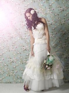 Vesselina Pentcheva Girls Dresses, Flower Girl Dresses, Vera Wang Dress, One Shoulder Wedding Dress, Dream Wedding, Wedding Inspiration, Wedding Dresses, Beautiful, Fashion