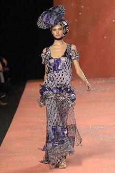 Sfilate Christian Lacroix Collezioni Primavera-Estate 2008 - Sfilate Parigi - Moda Donna - Style.it