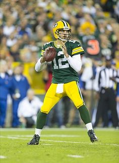 Aaron Rodgers - my fav's wear number 12