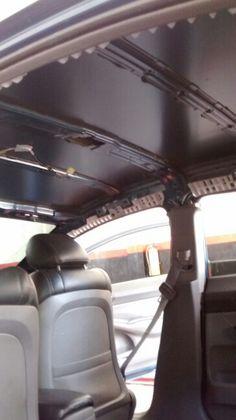 Desmonte de techo. Honda civic