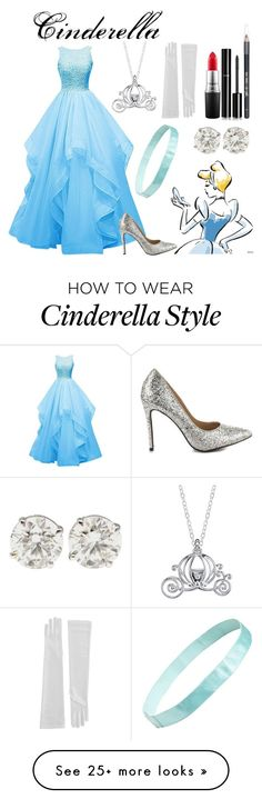 """""""Cinderella"""" by fairytale-reality on Polyvore featuring Disney, Penny Loves Kenny, L. Erickson, MAC Cosmetics, Chanel, Barry M, women's clothing, women's fashion, women and female"""