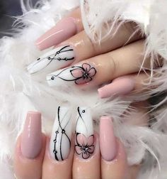 cute acrylic nails for kids / nails kids cute & nails kids cute easy & cute nails for kids & kids nail designs cute & kids nails cute simple & nails for kids cute short & cute acrylic nails for kids & cute unicorn nails for kids Cute Nail Art Designs, Acrylic Nail Designs, Fancy Nails Designs, Gel Designs, Diy Nails, Cute Nails, Pretty Nails, Manicure Ideas, Manicure Nail Designs