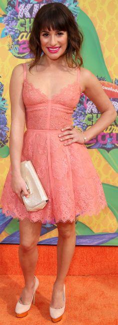 Lea Michele - Nickelodeon's 27th annual Kids' Choice Awards, LA (March ...