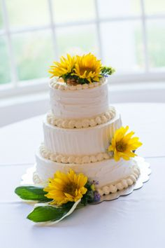 Sunflower Themed Wed