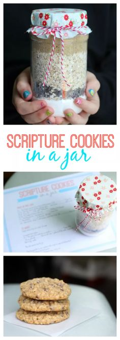 Scripture Cookies in a Jar are a Fun Youth Group Activity A fun young women's activity and treat all in one! Scripture cookies in a jar. Search scripture verses to find the ingredients. Pack into a jar and send home with each girl to make for her fa… Mutual Activities, Youth Group Activities, Young Women Activities, Activities For Girls, Youth Group Crafts, Church Activities, Summer Activities, Christian Youth Activities, Activities For 6 Year Olds