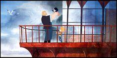 animation concept art visual development Tomm Moore Cartoon Saloon Adrien Merigeau song of the sea Animation News, Dreamworks Animation, Illustrations, Book Illustration, The Secret Of Kells, Song Of The Sea, Feature Film, Book Art, Concept Art