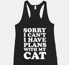 This Cat Lover Shirt Lets People Know You Don't Want to Hang Out trendhunter.com