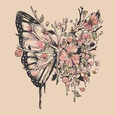 disintegrating butterflies - Google Search