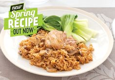 Our Chicken and Mushroom Casserole is simple to make and packed full of flavour!