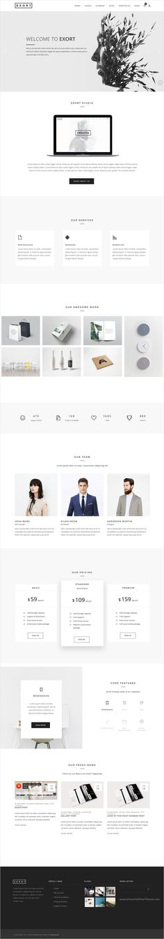 Exort is ultimate, super flexible and fully responsive #WordPress #template suited for #corporate business, entertainment or eCommerce websites with 10+ different homepage layouts download now➩ https://themeforest.net/item/exort-responsive-multipurpose-wordpress-theme/17623862?ref=Datasata