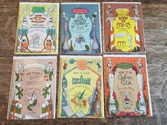 6 Vintage Hallmark A Spectacular Guidebooks Get Well Birthday Vacation Cook